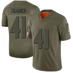 Limited Brynden Trawick Men's Baltimore Ravens Camo 2019 Salute to Service Jersey - Nike