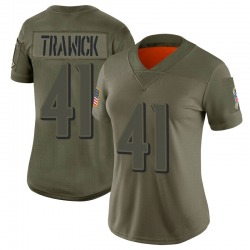 Limited Brynden Trawick Women's Baltimore Ravens Camo 2019 Salute to Service Jersey - Nike